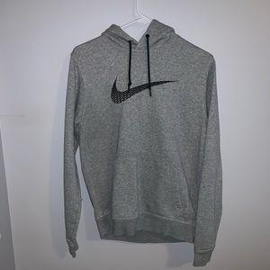 Men's Nike Grey Hoodie
